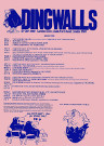 Dingwalls Poster 1978 UK
